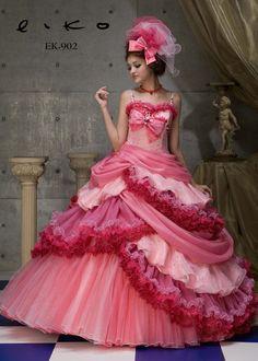 dball ~ dress ballgown ~ I love the layering on the bottom.