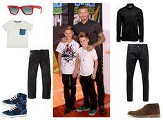 David Beckham - Romeo - Cruz - style