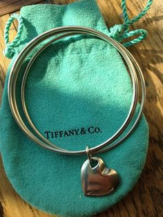 Tiffany & Co. silver BRACELET with heart - jewelry - fashion accessories