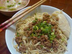 Chinese Food Week NCC: Mie Ayam Pangsit by Lingga