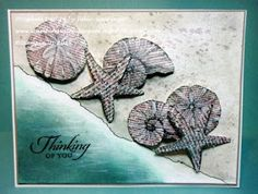 Stamping with Julie Gearinger: By The Seashore- Thinking of You