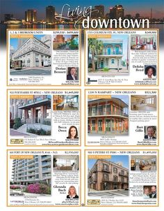 Check out our Downtown Living page in our newest issue of Homes & Land Magazine! Homes & Land of Greater New Orleans, LA Online Magazine-2154 - Volume 11 Issue 04