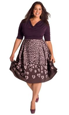 IGIGI by Yuliya Raquel Plus Size Jane Vintage Dress in Violet 14/16. Make day-to-night dressing easy with this elegant dress. Its high waistband A-line skirt with inverted pleats was created to skim and flatter the figure. We suggest cinching your waist with our Tassel Belt in Bronze and adorning your neckline with a chunky statement piece like the Estelle Necklace.