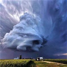 Sky Art Foto Nature, All Nature, Science And Nature, Amazing Nature, Image Zen, Image Nature, Weather Cloud, Wild Weather, Weather Storm