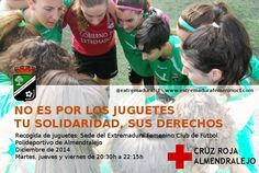 Estas navidades, ningún niño sin juguete  #EFCF #Extremadura #Almendralejo #solidaridad