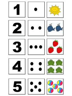 Fotoğraf: Kindergarten Math Worksheets, Preschool Learning Activities, Toddler Learning, Preschool Activities, Teaching Kids, Maths, Numbers Preschool, Learning Numbers, Childhood Education