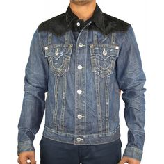 True Religion Jean Jacket | True Religion Jacket Denim In Dark Wash | True Religion | Mens True ...