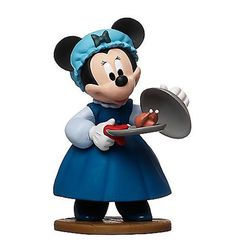 "DISNEY MICKEY'S CHRISTMAS CAROL MINNIE MOUSE MRS CRATCHIT 3"" FIGURE CAKE TOPPER #Disney"