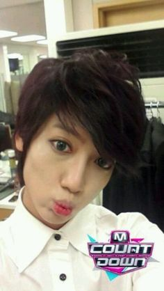 Kwangmin Abouts to kiss me!!!