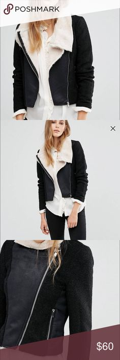 """ASOS Vera Moda jacket I ordered this awhile back for winter and I absolutely love it. I don't fit it anymore and since I'm only 5'1"""" it adds weight to me that's just not necessary. New with tags, never worn. ASOS Jackets & Coats"""