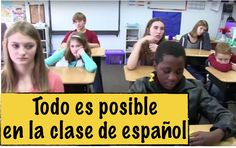 Everything is possible in Spanish class! Allow your imagination to travel freely! Spanish Teacher, Spanish Classroom, Teaching Spanish, Learn Spanish, Classroom Ideas, Elementary Spanish, Spanish Culture, Spanish Words, Everything Is Possible