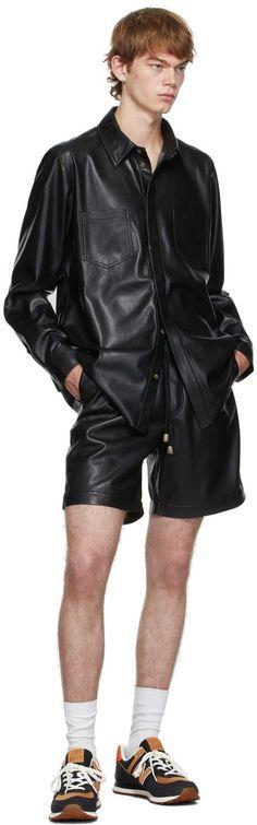 Vegan Leather, Leather Jacket, Guys, Long Sleeve, How To Wear, Jackets, Shirts, Men, Barrel