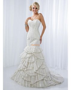 9d588741 Spring 2014 Sweetheart Sleeveless Wedding Dresses 2014 Sweetheart Wedding  Dress, Perfect Wedding Dress, Mermaid