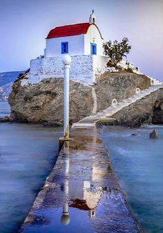 Agios Isidoros (St. Isidore) chapel, Chios Island, Greece   by laoudikos