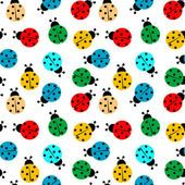 ladybugs in colors seamless pattern, abstract texture; Ladybug Cartoon, Cool Wallpaper, Abstract Pattern, Vector Art, Oriental, Ladybugs, Royalty Free Stock Photos, Kids Rugs, Illustration