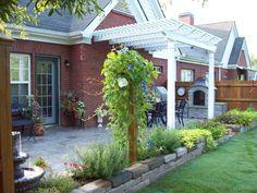 Small Condo Patio Garden | Condo Patio, Garden, and Pergola - Patios & Deck Designs - Decorating ...