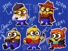 i think i just died from cuteness! <3 Minion Mythbusters
