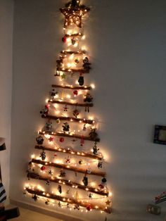 Rustic and beautiful. #ChristmasTree