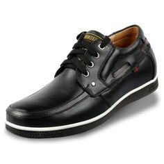 Black  | Brown  elevating shoes 6cm / 2.36inch with the SKU:MENXJD_0086 - high up elevator men shoes to be height increase get taller 6cm / 2.36inches