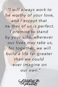 I promise that we will always be a team. Quotes For Him, Me Quotes, Qoutes, To My Husband, Romantic Quotes For Husband, Vows Quotes, Love My Husband Quotes, Love Quotes For Wedding, Wedding Ideas