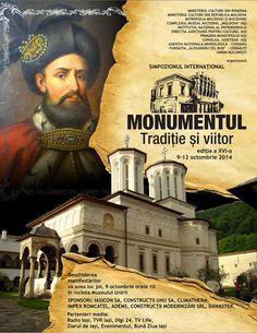 """Simpozionul Internaţional """"MONUMENTUL – TRADIŢIE şi VIITOR"""", ediţia a XVI-a"""