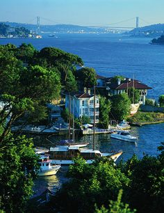 The Bosphorus Strait, Istanbul..truly one of the most beautiful places I have seen... i want to return one day