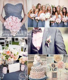 We Love Grey Bridesmaid Dresses in 2014 | TulleandChantilly.com