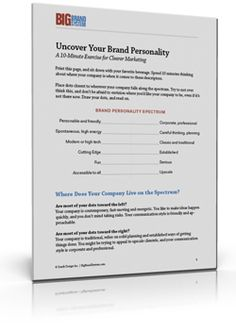 Uncover Your Brand Personality in 10 Minutes or Less