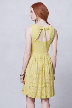 Sunstream Eyelet Dress - Anthropologie.com
