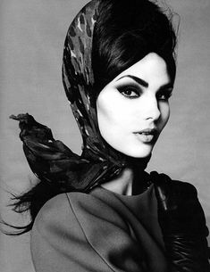 Candice Huffine by Steven Meisel