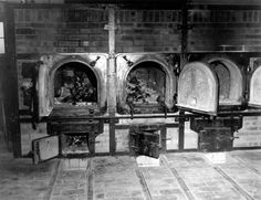 Bones of anti-Nazi German women still are in the crematoriums in the German concentration camp at Weimar, Germany, taken by the 3rd U.S. Army. Prisoners of all nationalities were tortured and killed.