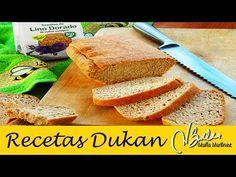 Pan de Linaza, receta para horno (Dukan Ataque) | Recetas Dukan Maria Martinez