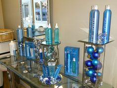 aquage display in my salon