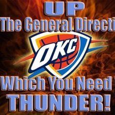 Love OKC Thunder!!!