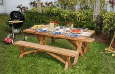Follow our DIY picnic table guide at This Old House. Use cedar boards to make a classic picnic table that's fit to host family and friends for years to come.