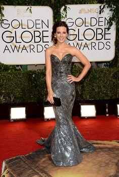 Golden Globes 2014 - Kate Beckinsale en un look de J.Mendel pre-fall 2014