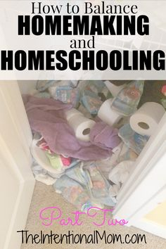 Is it a struggle to balance homemaking and homeschooling in your family?This homeschool veteran of 10 years shares some of the secrets that can work for YOU