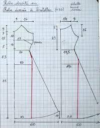 """Résultat de recherche d'images pour """"coudre une robe trapeze femme"""""""