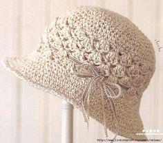 free...Летняя женская вязаная крючком ажурная шляпка/4683827_20120709_182615 (608x536, 254Kb)