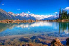 Lake Garibaldi, British Columbia, Canada.  Sea to Sky Highway: Vancouver-Squamish-Garibaldi-Whistler-Pemberton