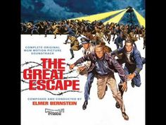 """The Great Escape"" (1963) Suite -  By Elmer Bernstein - Motion Picture Soundtrack Suite"