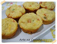 Arte na Cozinha: Muffin de peito de peru - Blog da Nô