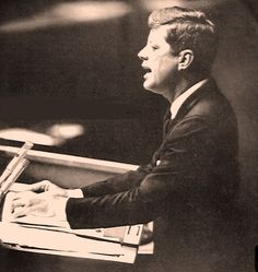President Kennedy At The UN - September 25, 1961