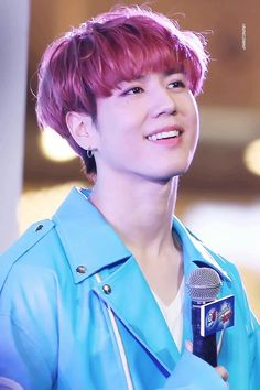 #YUGYEOM - that's kind of the spaced-out look I get looking at all these men on Pinterest..