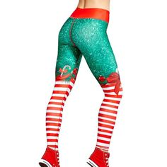 edfdd50e8fd375 25 Best Christmas Leggings & Yoga Pants images in 2019