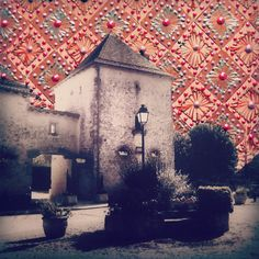 """Atelier Jen - The Village, decorated photograph from my """"Adorn"""" series"""