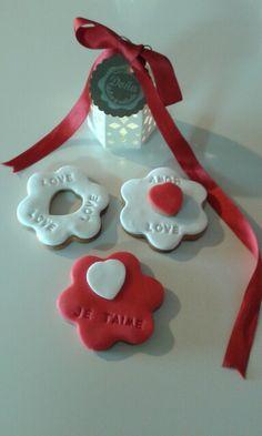 Galletas San Valentín. Galletas para el día de los enamorados.
