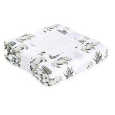 Rhino Baby Blanket