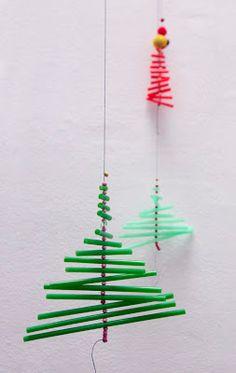 El hada de papel: Decoracion navideña / Christmas Decoration / Weihnachtsschmuck