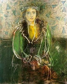 Pablo Picasso「Dora Maar With A Crown Of Flowers」(1937)